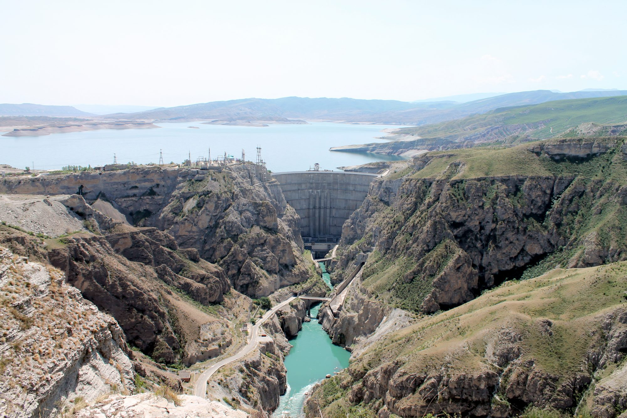 Сулакский каньон в Дагестане