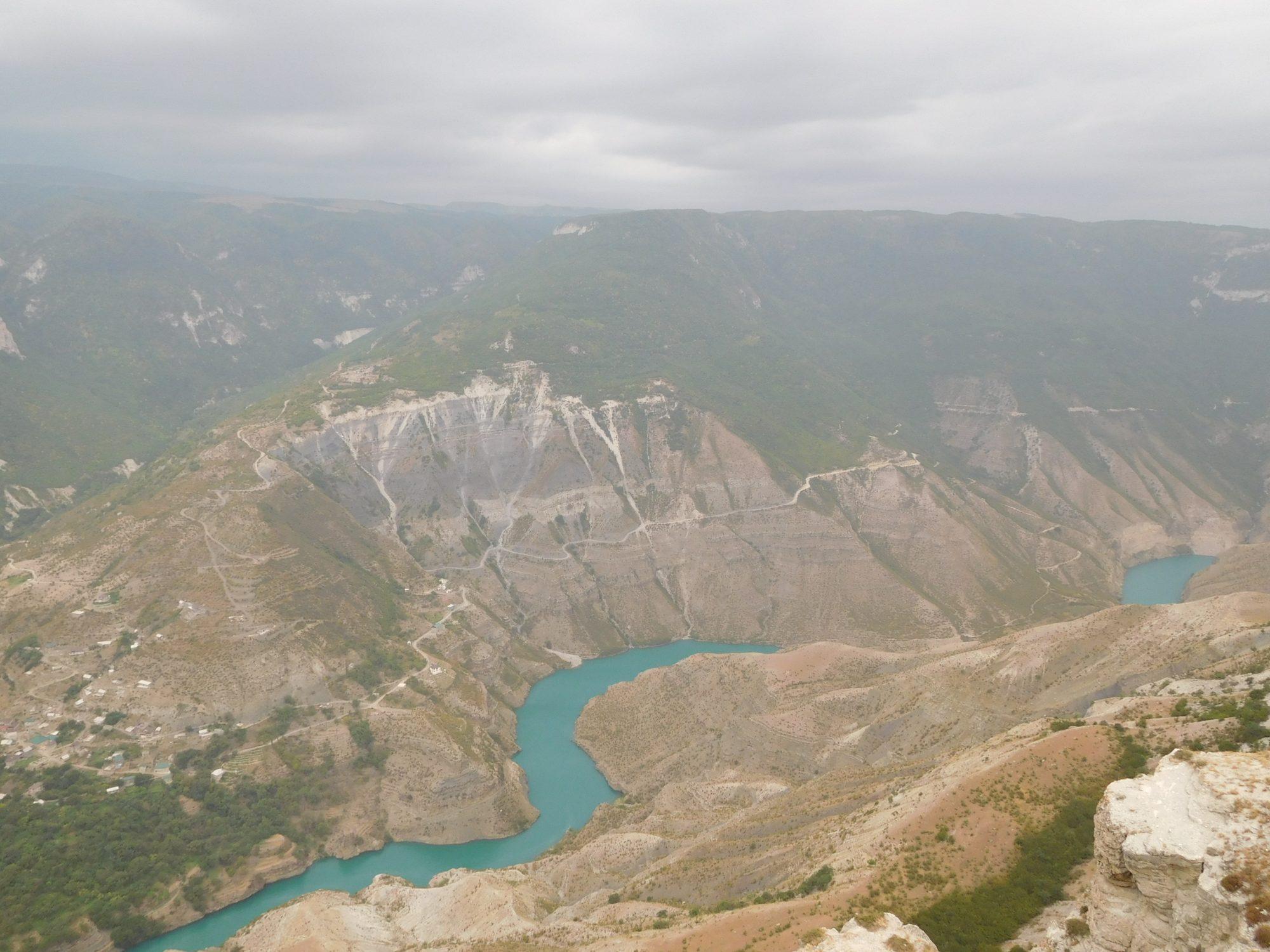 Погода в Сулакском каньоне в Дагестане