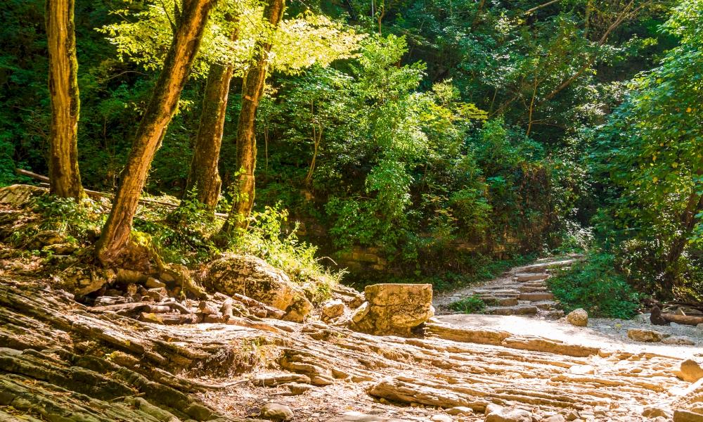 Агурские водопады как добраться