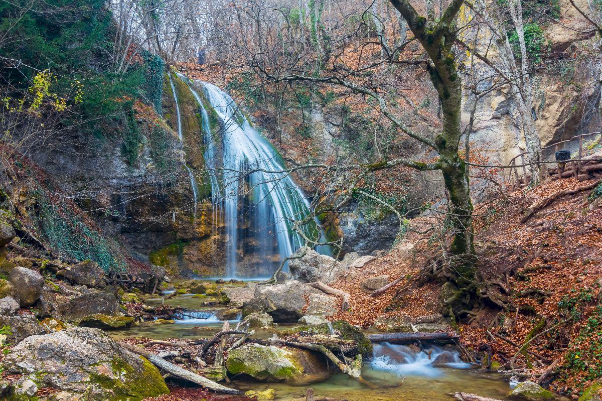 Водопад Джур-Джур (Фото осенью)