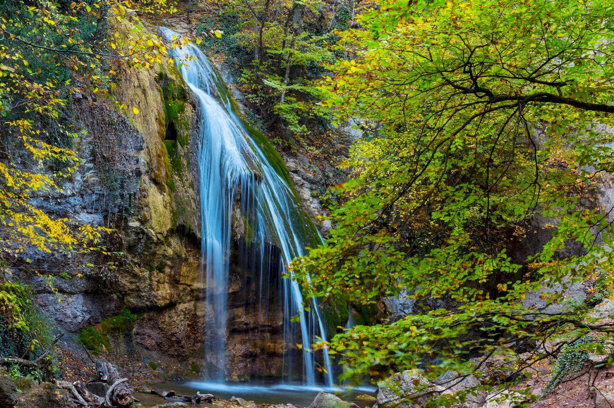 Водопад Джур-Джур (Фото летом)