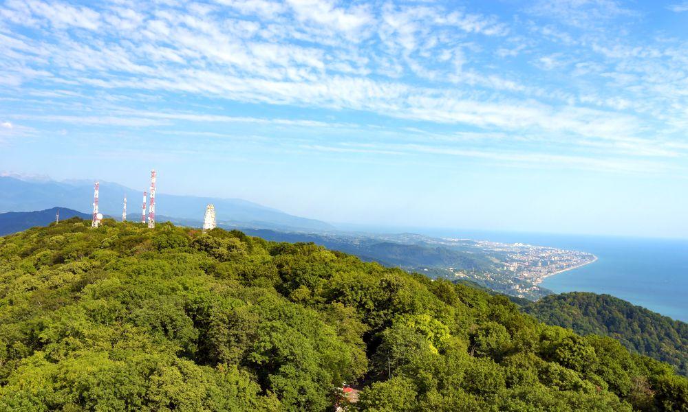 Гора Ахун как доехать из Сочи