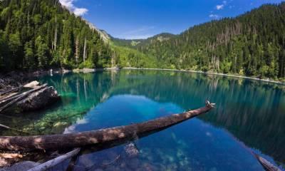 Озеро Рица как добраться на машине