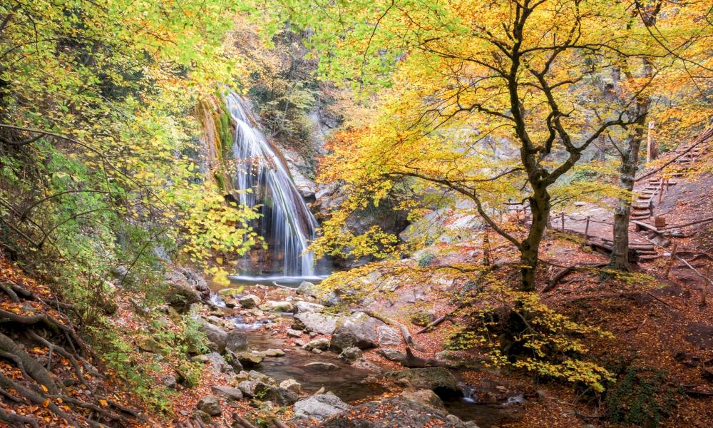 Водопад Джур-Джур самостоятельно