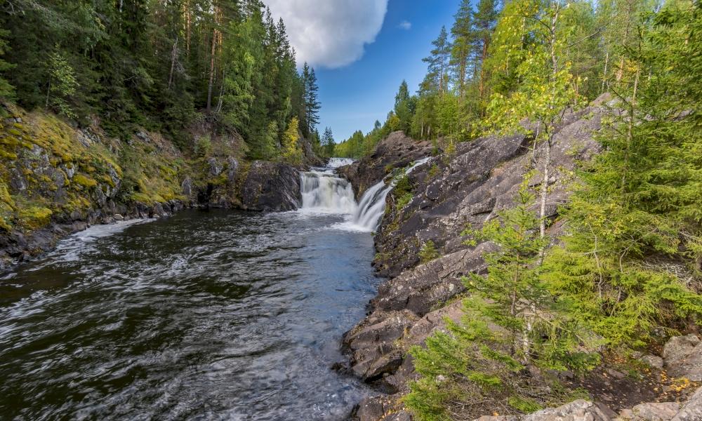 Водопад Кивач как добраться