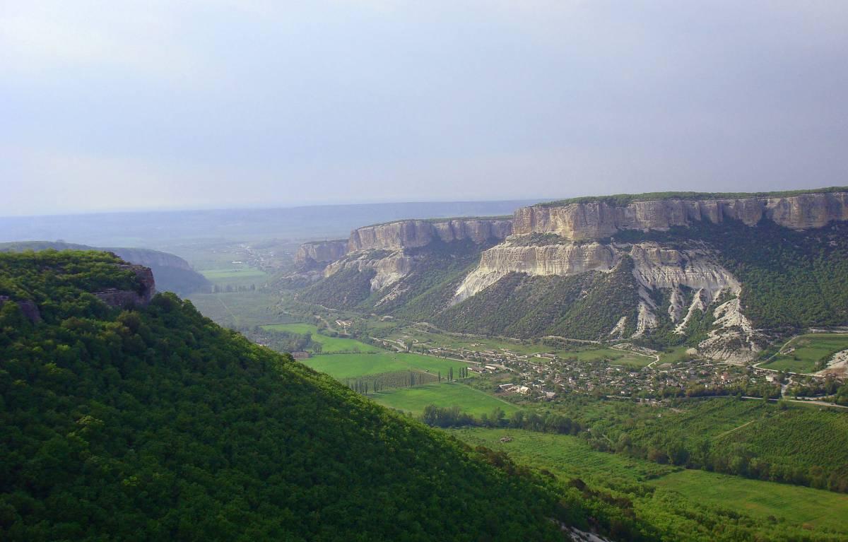 Памятник природы - Бельбекский каньон