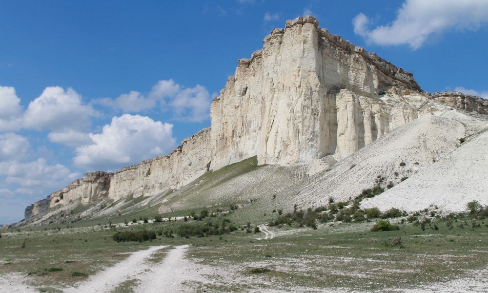 Белая скала Крым