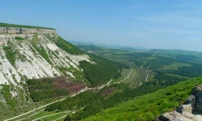 Бельбекский каньон самостоятельно