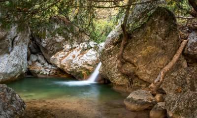Большой каньон в Крыму на машине маршрут