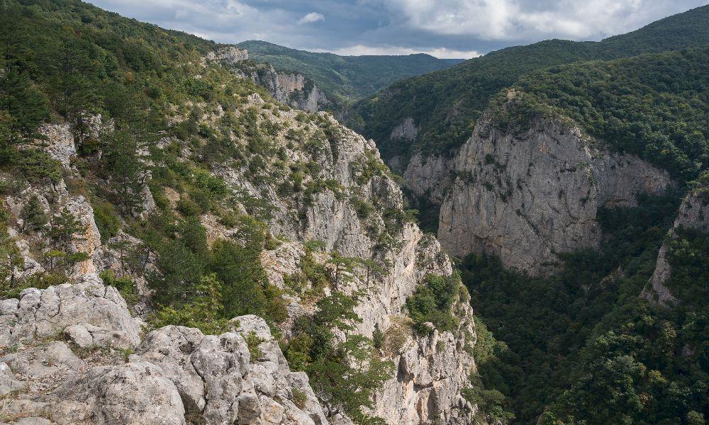 Большой каньон Крыма. Вид с северного края