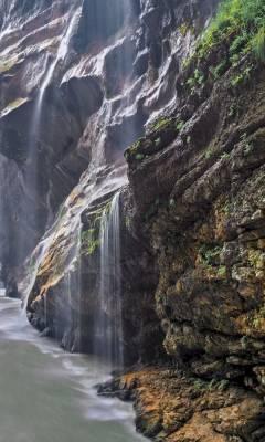 Чегемские водопады самостоятельно