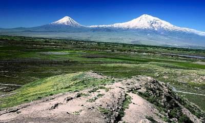 Гора Арарат где находится