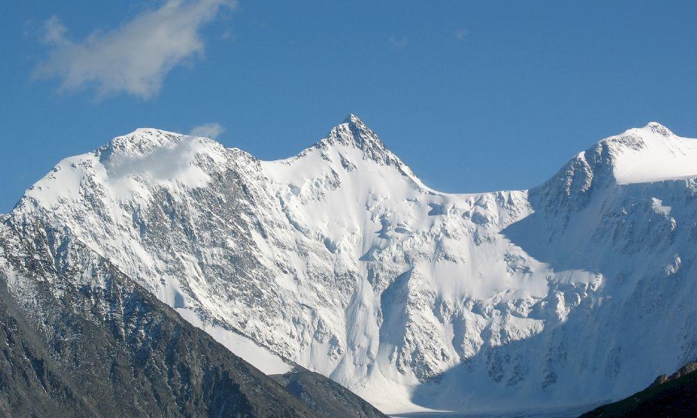 Гора Белуха на Горном Алтае