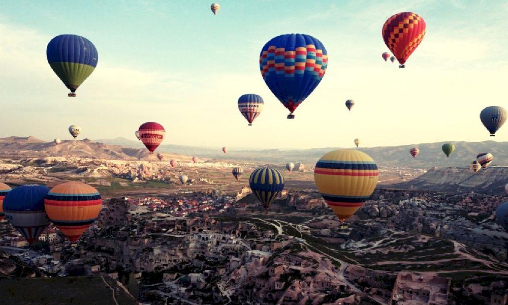 Каппадокия Турция воздушные шары