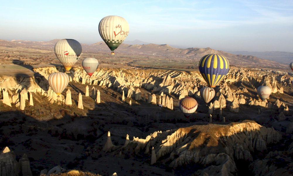 Каппадокия фестиваль шаров