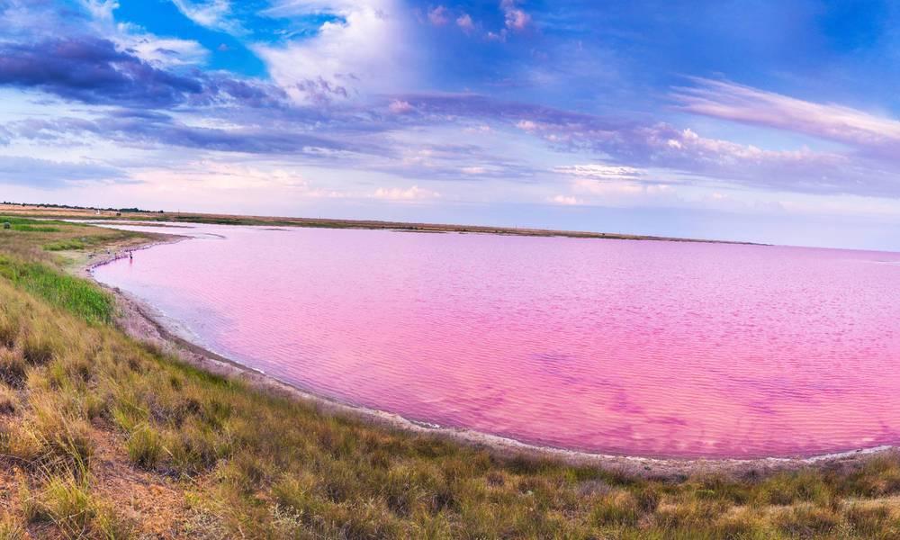 Розовое озеро Крым как добраться