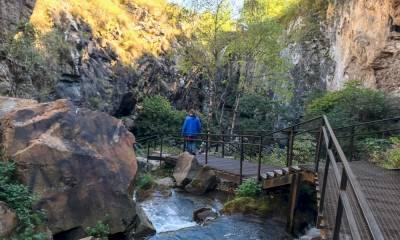 Медовые водопады самостоятельно