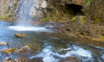Медовые водопады координаты