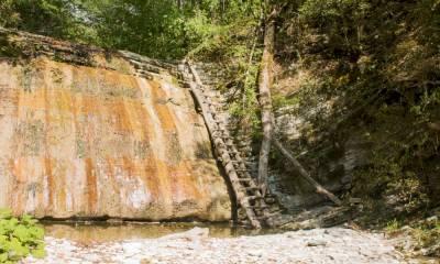 Пшадские водопады самостоятельно