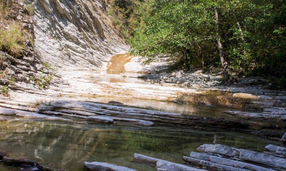 Пшадские водопады координаты