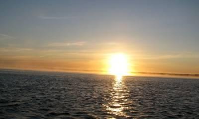 Глубина Белого моря
