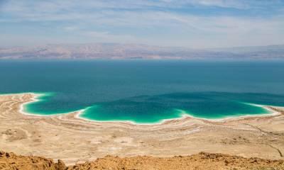 Мертвое море координаты на карте