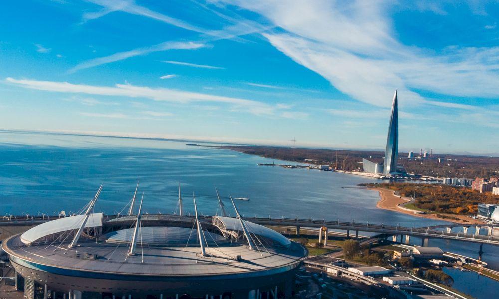 Финский залив Санкт-Петербург