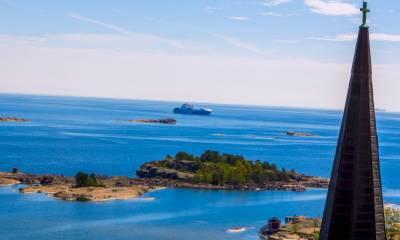Финский залив где находится