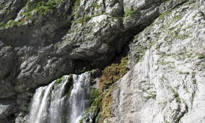 Гегский водопад самостоятельно