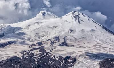 Гора Эльбрус панорама