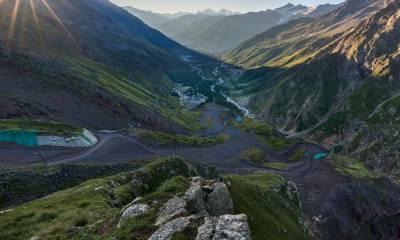 Подъем на гору Эльбрус