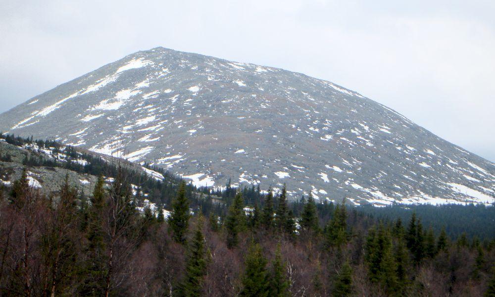 Гора Иремель Тюлюк
