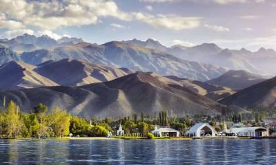 Озеро Иссык Куль отдых КиргизияОзеро Иссык Куль отдых Киргизия