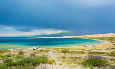Глубина озера Иссык Куль
