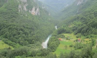 каньоны рек Тары и Морачи