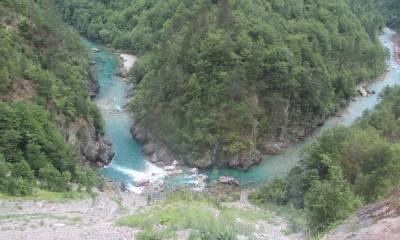Мост каньон реки Тара
