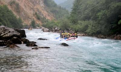 каньон реки Тара на карте