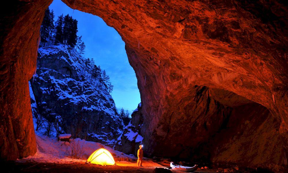 Капова пещера где находится