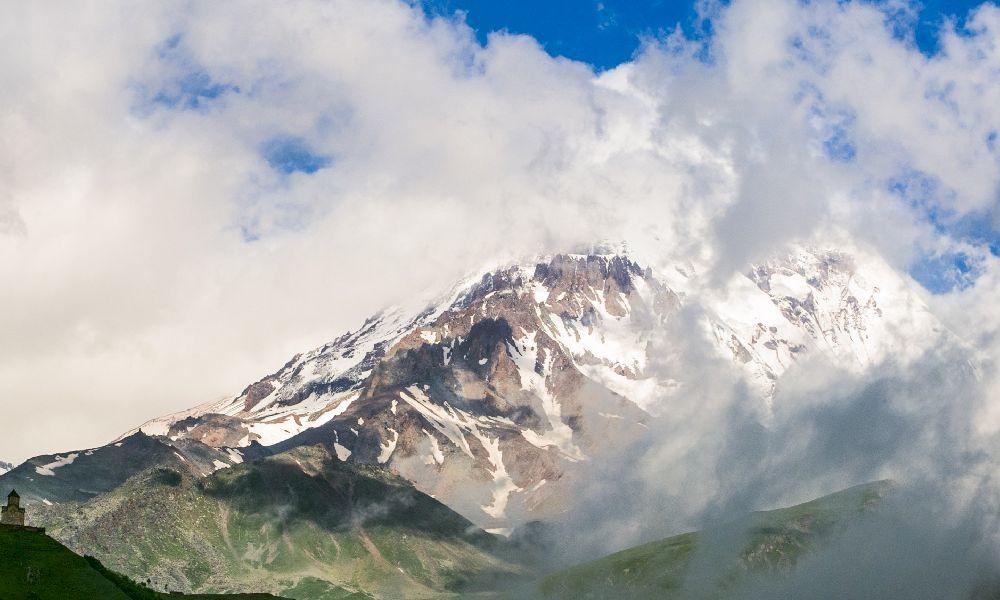 Гора Казбек Россия