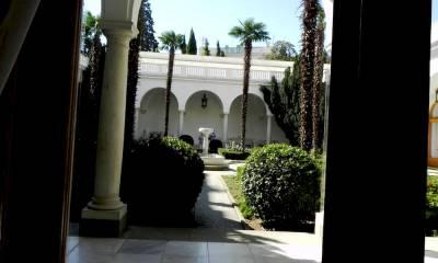 Ливадийский дворец как добраться
