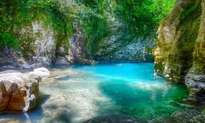Мартвильский каньон Грузия фото