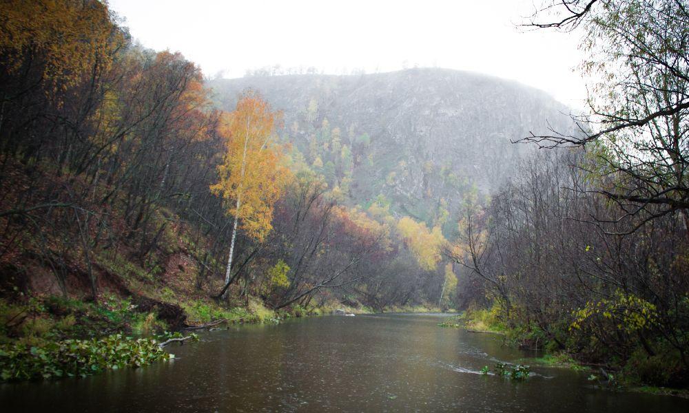 Мурадымовское ущелье Башкирия