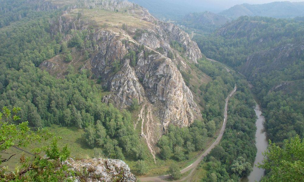 Мурадымовское ущелье Уфа