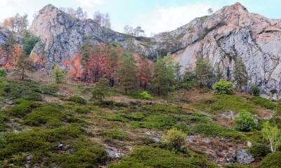 Мурадымовское ущелье на карте БашкирииМурадымовское ущелье на карте Башкирии
