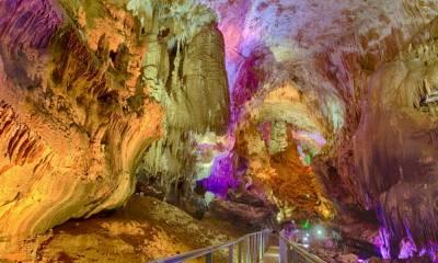 Пещера Прометея фото Грузия