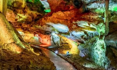 Пещера Прометея координаты на карте