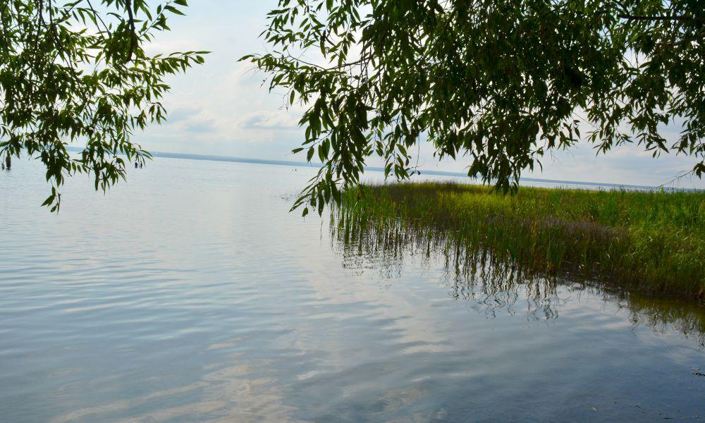 Плещеево озеро панорама