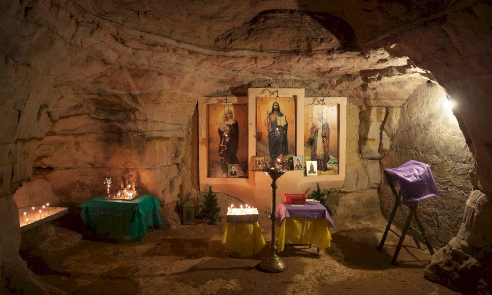 Саблинские пещеры фото внутри
