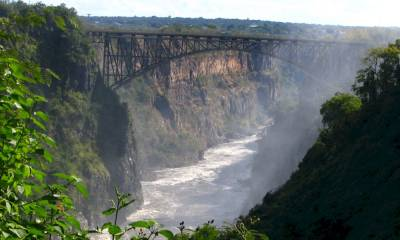 Водопад Виктория где находится