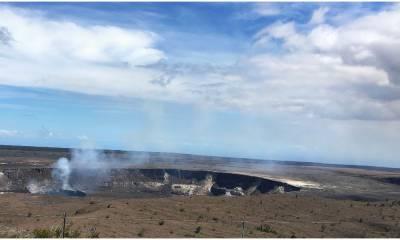 Вулкан Килауэа остров